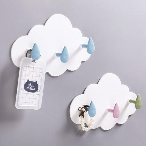 Self-Adhesive Cloud Wall Hanger