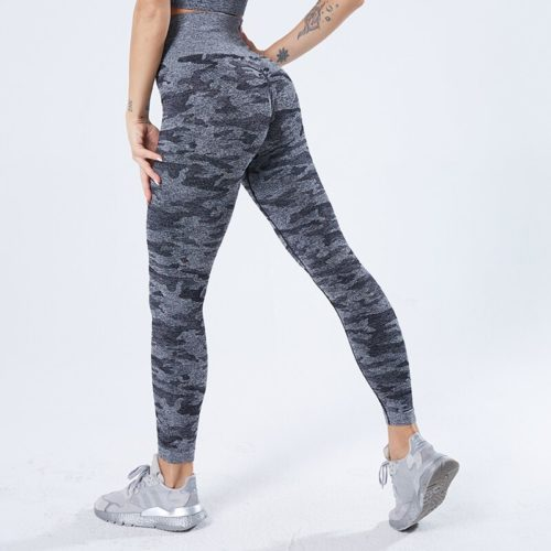 Camouflage Leggings Ladies Fitness Pants