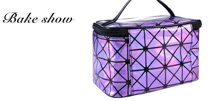 Capacity Organizer Bag Foldable Cosmetics Bag Make Up Container Organizer Makeup Brush Holder Bathroom Makeup Storage Organizer