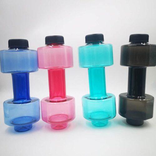 Water Filled Dumbbells Sports Bottle