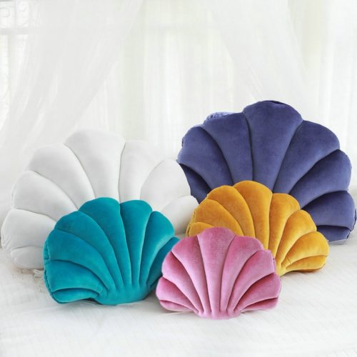 Seashell Pillow Luxurious Home Decoration