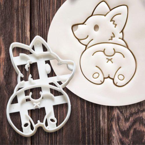 Plastic Corgi Cookie Cutters (4pcs)