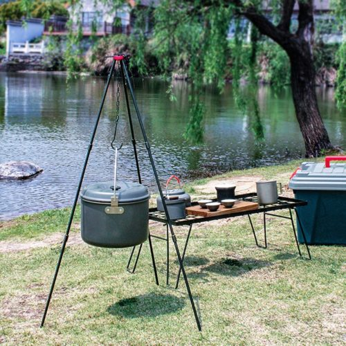 Campfire Cooking Tripod with Bag