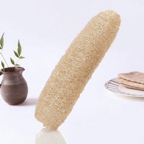 Natural Loofah Sponge Exfoliating Scrub