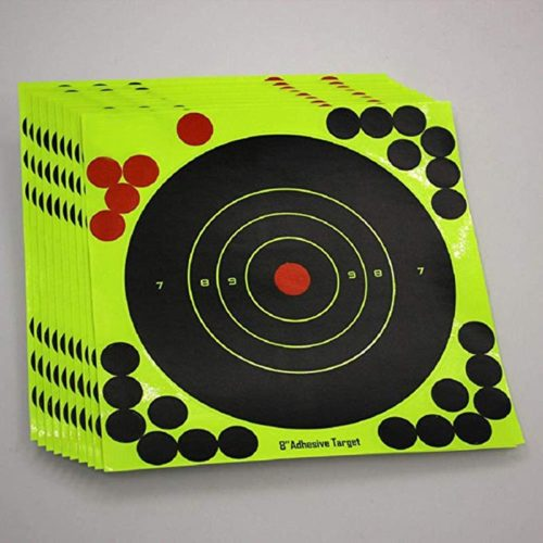 Self-Adhesive Target Stickers (10pcs)