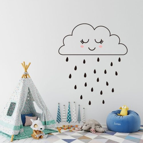 Minimalist Cloud Wall Sticker