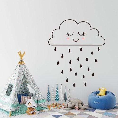 Minimalist Cloud Wall Sticker