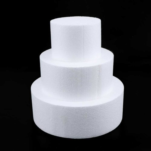 Reusable Round Dummy Cake Foam