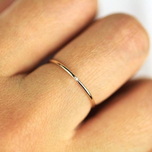 Skinny Ring Minimalist Jewelry