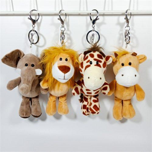 Soft Stuffed Animal Keychain