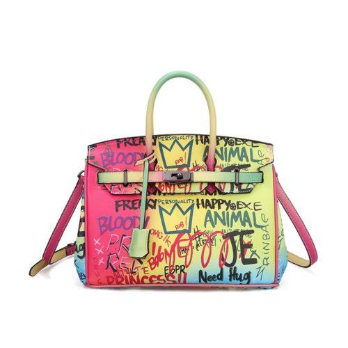 Graffiti Crossbody Bag For Women