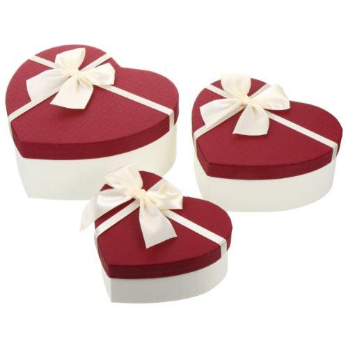 Heart Gift Boxes Set (3 Pcs)