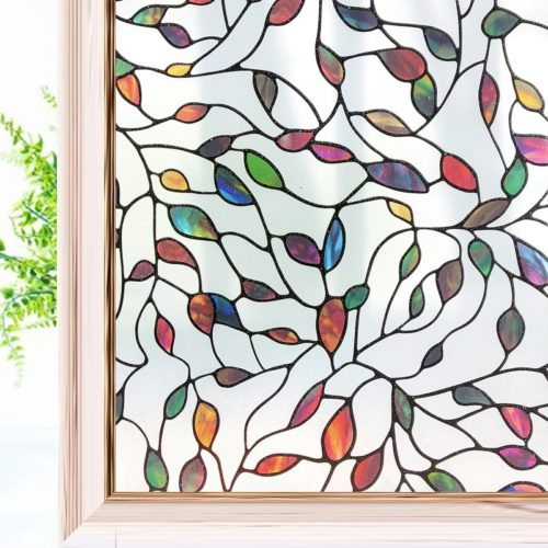 Static Stained Glass Sticker Film