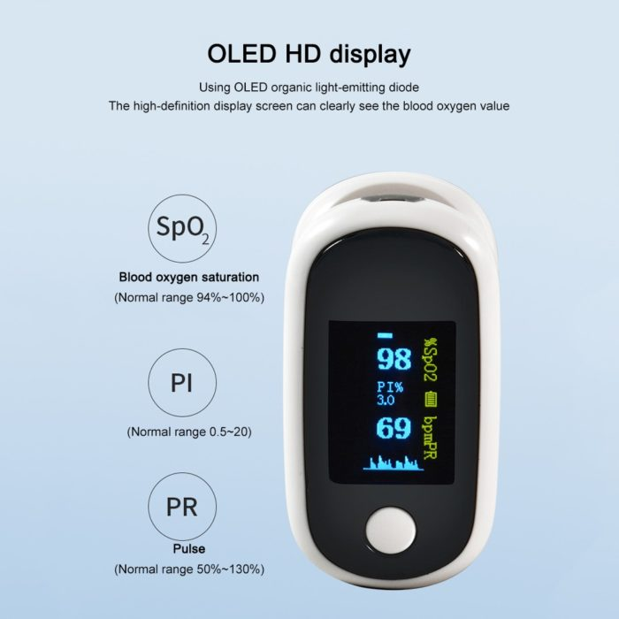 USB Rechargeable Pulse Oximeter