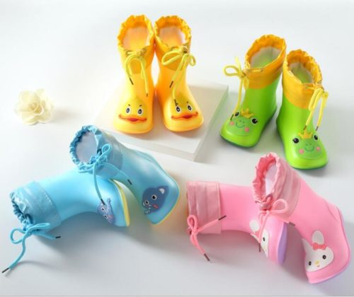 Waterproof Kids Rubber Boots