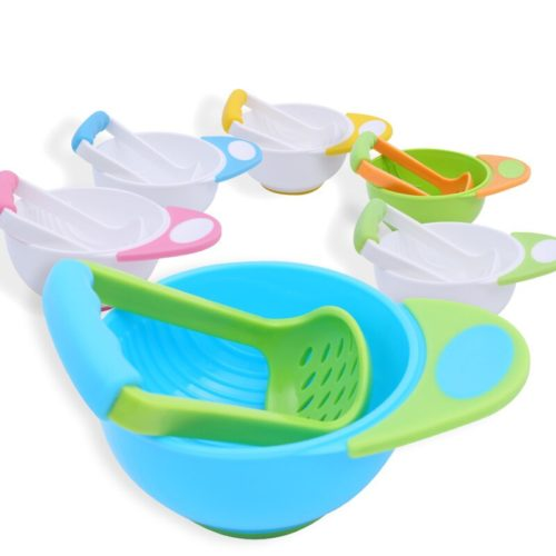 Baby Food Masher Grinding Tool and Bowl