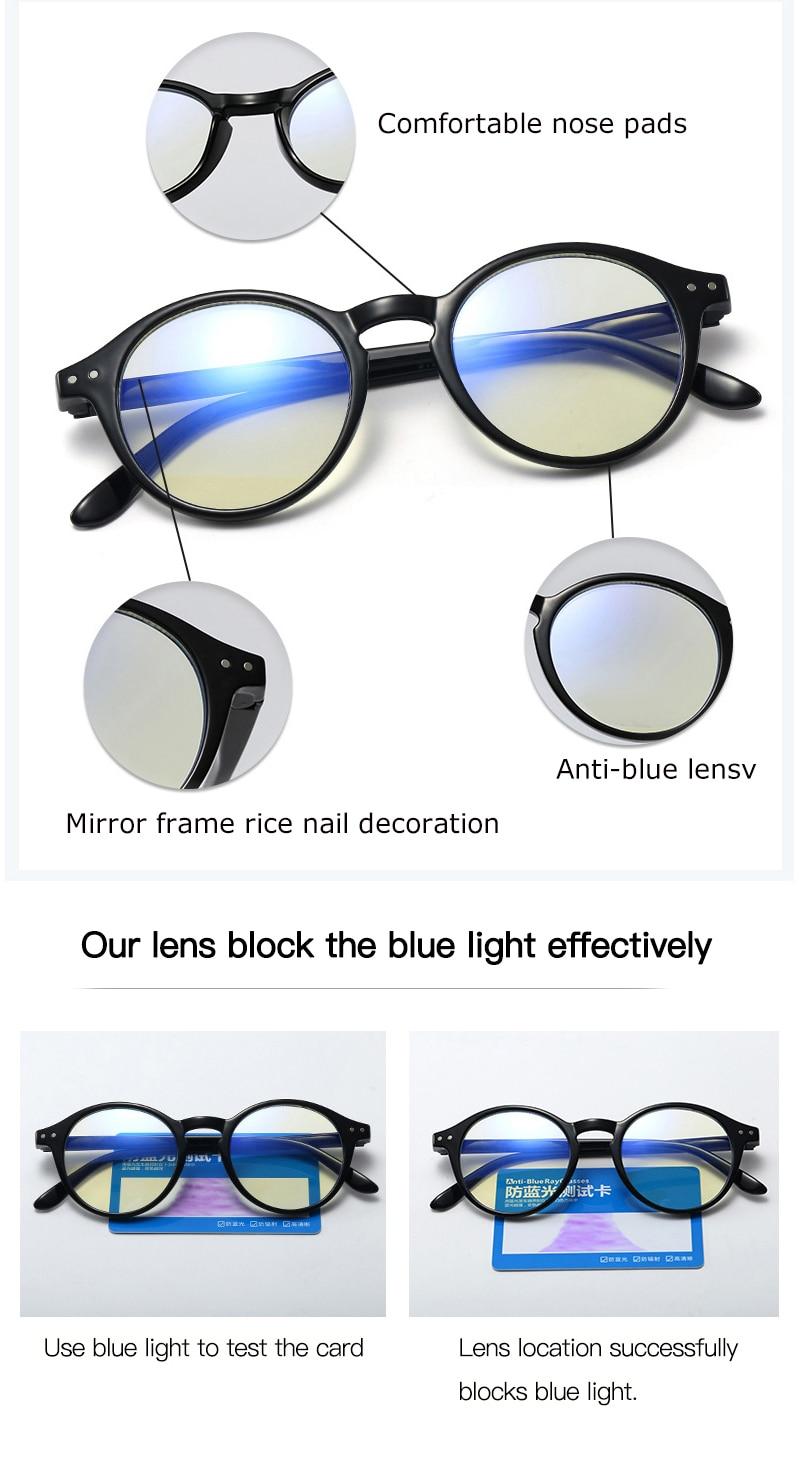 CRIXALIS Anti Blue Light Reading Glasses For Women Men TR90 Flexible Frame Spring Hinge Computer Presbyopia Eyewear Female UV400