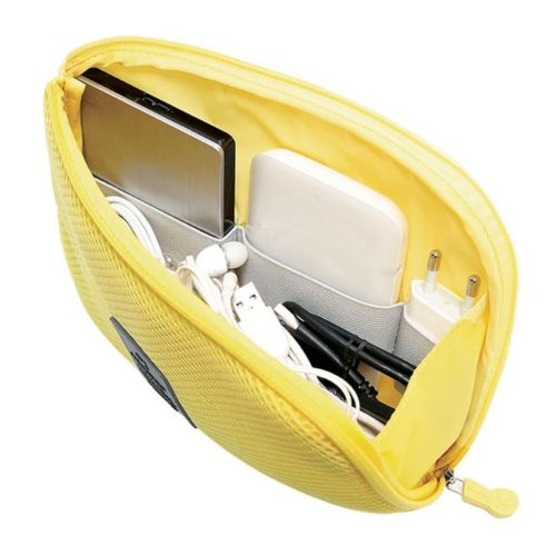 Cable Organizer Pouch Portable Wire Case