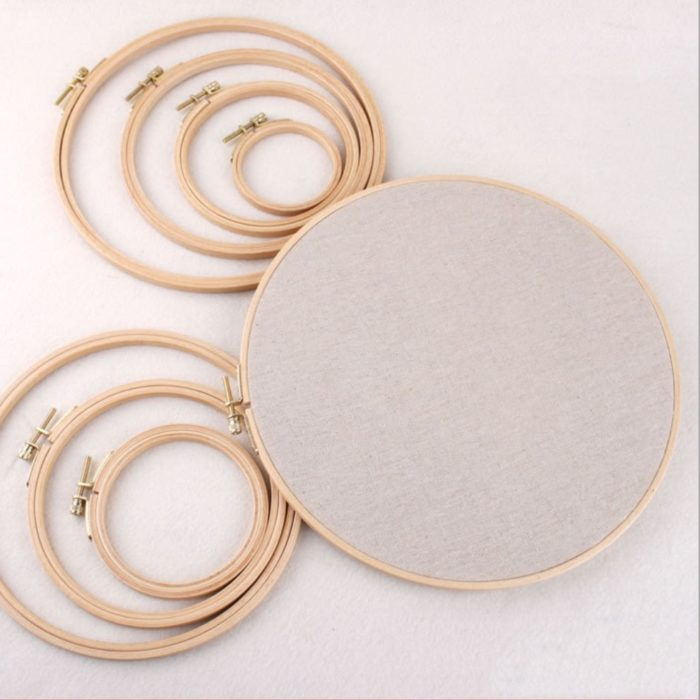 Wooden Embroidery Circle Frame