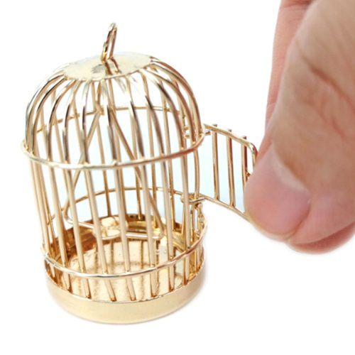 Miniature Bird Cage for Dollhouse