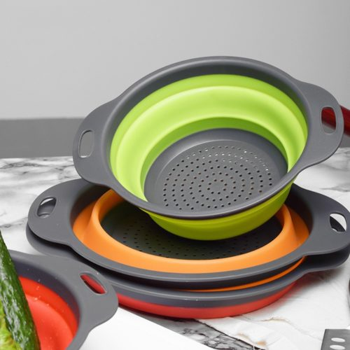 Collapsible Collander Food Strainer