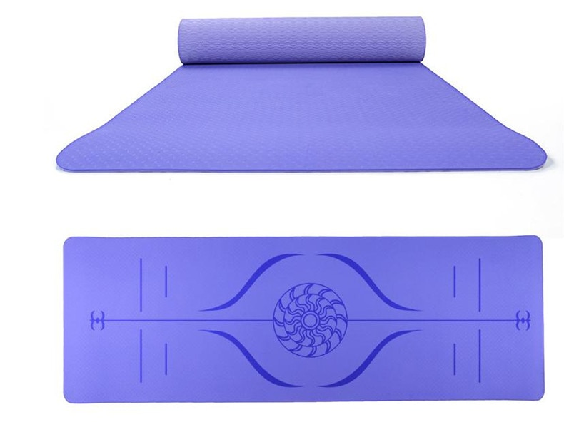 Non Slip Workout Mat With Storage Bag