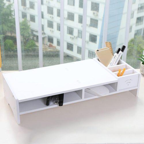 Wooden Desktop Shelf Riser