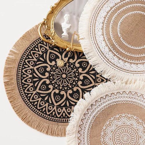 Circular Placemat Nordic Style