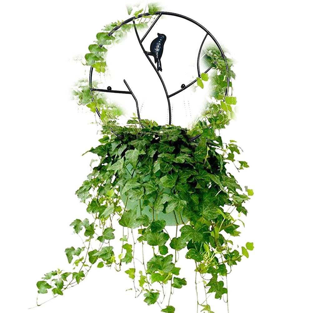 Creative Vine Climbing Rack Iron Vegetables Plant Trellis Durable Plant Support Frame Plant Flower Decorative Gardening Tools