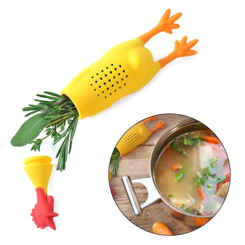 Silicone Chicken Spice Infuser