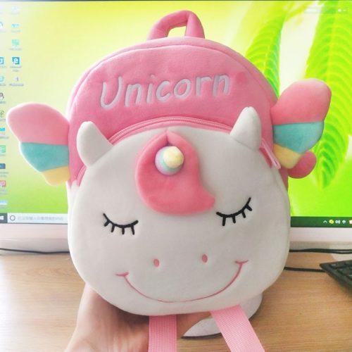 Unicorn Backpack for Girls Plush Bag