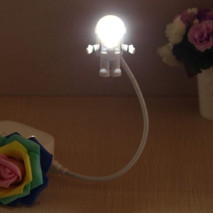 Astronaut USB Light Night Lamp