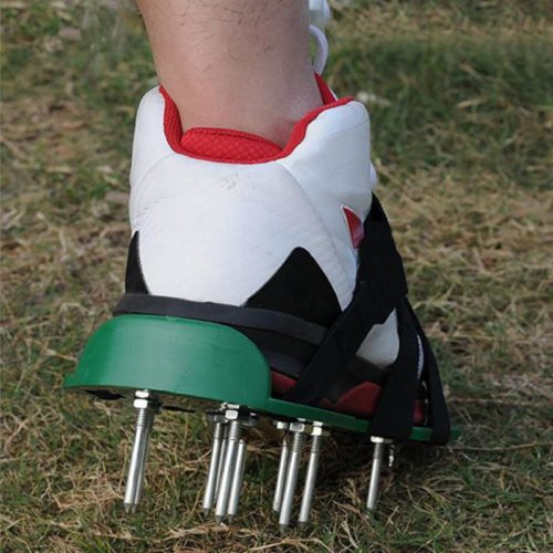 Strap-Adjustable Lawn Aerator Sandals