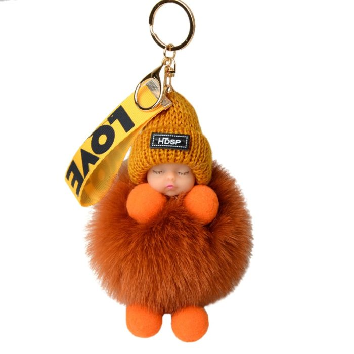 Baby Keychain Cute Charming Decor