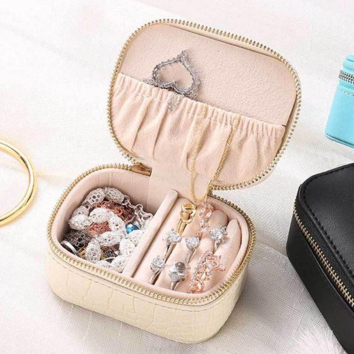 Portable Traveling Jewelry Box