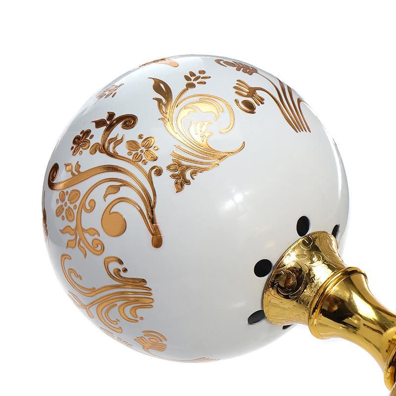 220V Incense Burner Arabian Islamic Style Mini Electric Burner Incense Bakhoor Round Pearl incense Electric Metal Positive