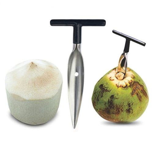 Stainless Screw-In Coconut Driller
