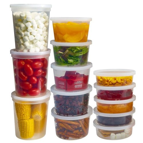 Refrigerator Food Storage Containers (10pcs)