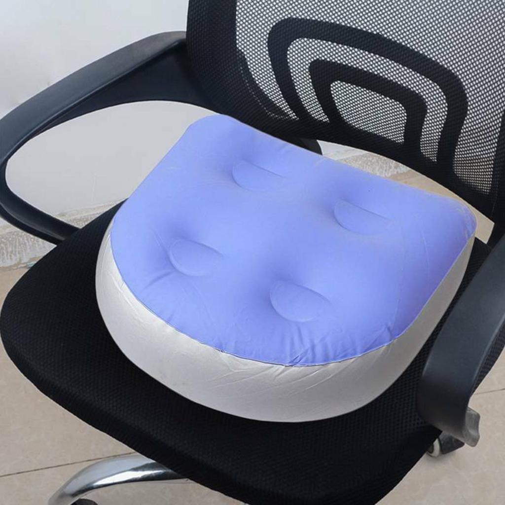 Hot Tub Mat Adult Mat Home Decor Inflatable Cushion Spa Booster Seat Chair Cushion Mat Pad 47x37x15cm Throw Pillow Floor Cushion