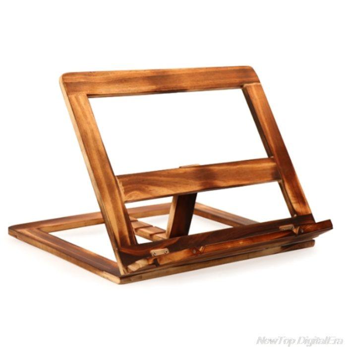 Foldable Wooden Book Holder