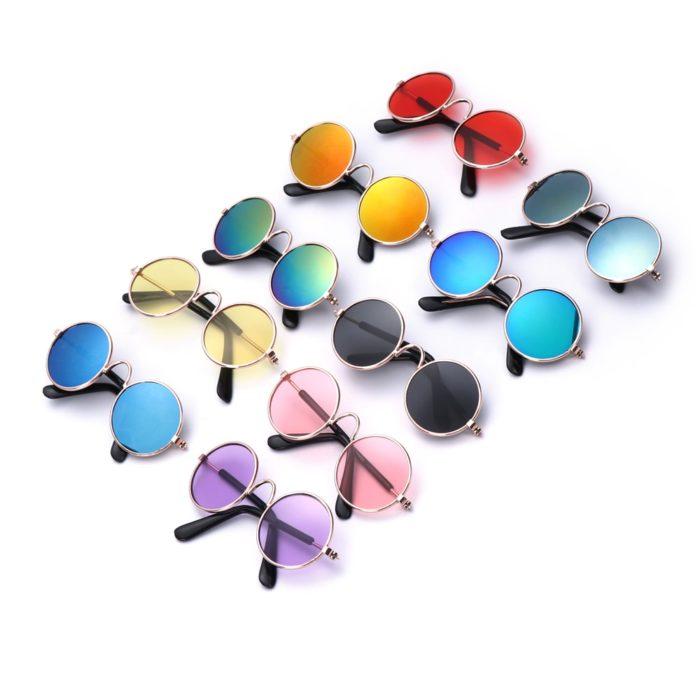 Stylish Round Lenses Sunglasses For Pets