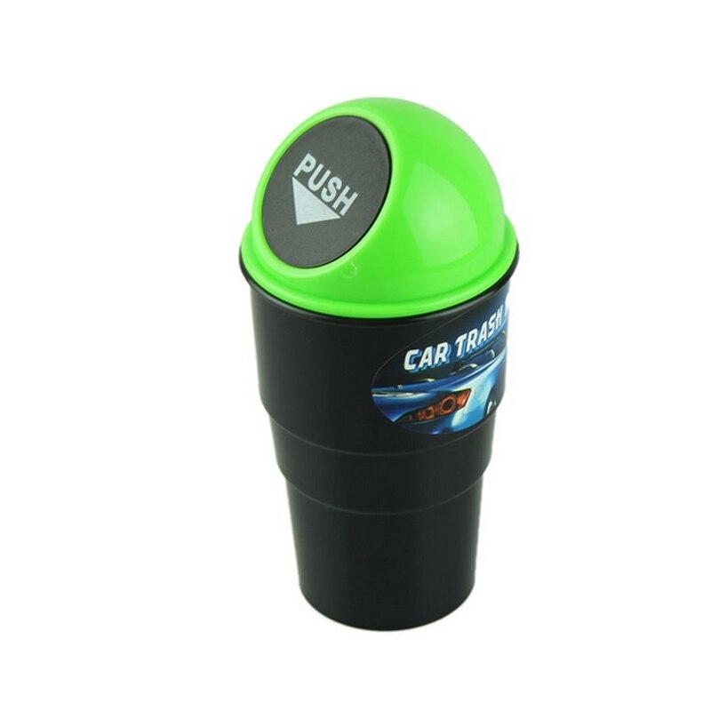 Car Mini Trash Garbage Can Autobiles Trash Dust Case Holder Bin Box Car-styling Can Rubbish Box Dust Case Holder Car Trash