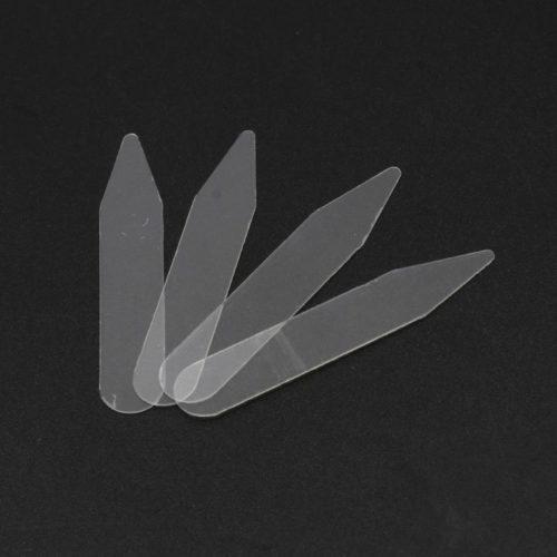 Clear Plastic Collar Stiffeners (200pcs)