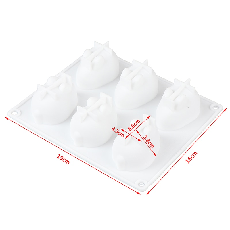 Silicone Molds for Baking Dessert Mousse New Cake Decorating Moulds Silicone 3D Bunny Rabbit Cake Molds