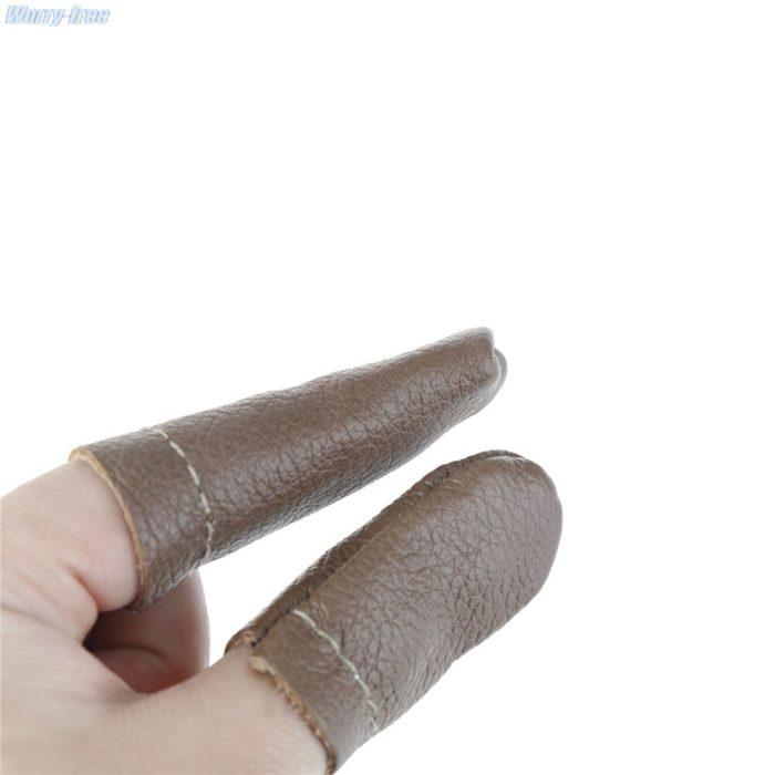 Faux Leather Thimbles (2pcs)
