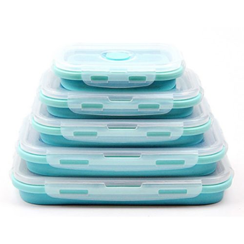 Foldable Lunch Box Food Container