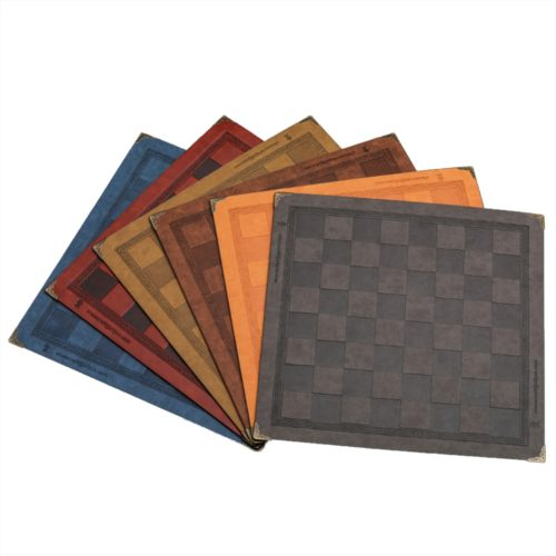 Leather Foldable Chess Mat