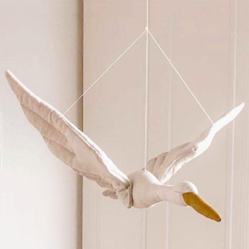 Hanging Swan Plush