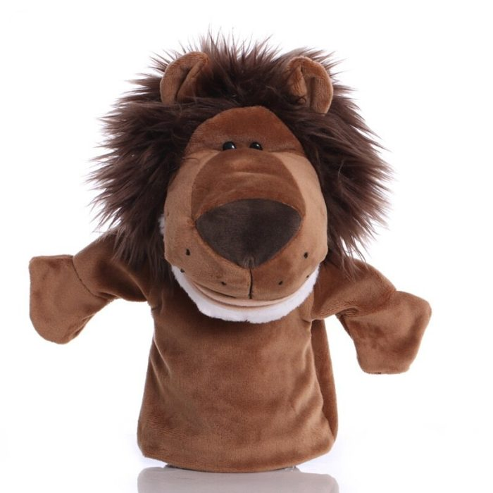Educational Plush Toy Lion Hand Puppet