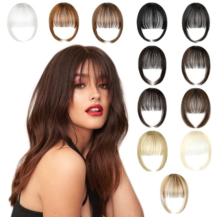 Bangs Hair Extension Clip-On Wig